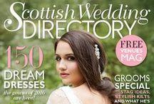 Scottish Wedding Directory Magazine / Covers from Scottish Wedding Directory Magazine - http://www.scottishweddingdirectory.co.uk