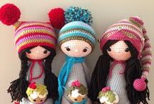 horgoltbabák / crochet