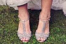 Beautiful Bridal Shoes / Don't forget to get yourself a gorgeous pair of bridal shoes with heels for your wedding day.