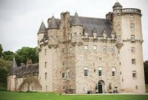 Scottish Castle Wedding Venues / Be the King or Queen of your own castle on the wedding day!