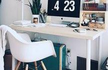 Büro & Arbeitsplatz / Arbeitsplatz, Büro, Office, Home Office, Work From Home, Workspace, Office Space, Productivity, Organization, Workspace, Working From Home,, Motivation, Dream Office, Dream Home, Interior
