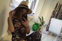 Wearing Elena Chalati