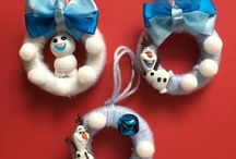 My Mini Christmas Garlands / My handmade Christmas Garlands