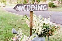 MARIAGE / Idées déco mariage - bougies  senteurs