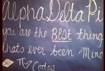 Pi Love / Alpha Delta Pi. First. Finest. Forever. Since 1851.