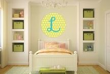 Kids Room / Creating a beautiful space for our little ones #baby #kids #babiesroom #kidsroom / by Name Bubbles