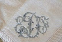 Monograms and Lettering / by Elinor Dorsey