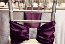 Chair Decor / Pretty Wedding & Event Chair Decorations & Ideas