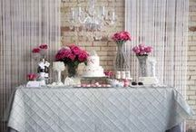 Bar Stations: Food, Drink & Dessert / Wedding and special event dessert tables and buffets, cocktail drink bars and food station ideas and decor. / by WedShare.com