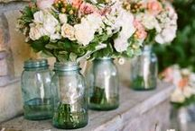 Mason Jars Love / Wedding & Event's Mason Jar Details, Ideas & Decor.
