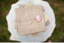 Burlap Love / Pretty Burlap Wedding Details