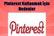 Pinterest Blog / Pinterest'i seviyoruz. Bu nedenle Pinterest ile ilgili öğretici yazılar yazmaya çalışıyor ve bu yazıları bu panoya ekliyoruz.