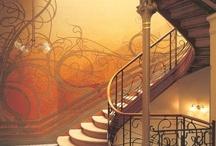 Bedroom redecoration inspiration / Art Nouveau based stuff