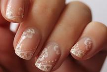 Bridal Manis  / Cute & Elegant Bridal Wedding Manicure Ideas / by WedShare.com