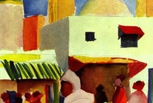 August Macke / by Deborah Bartlett (Rosenoff)