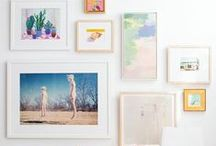 THE FRENCH HANG (gallery walls) / Inspiration for displaying your favorite art and prints  // art, prints, gallery wall, pictures, picture frames, prints, print layout, home decor, wall space, art gallery