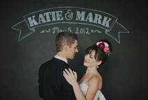 Chalk Love / Chalk & Chalkboard Wedding Details