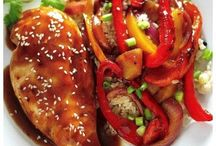 Slimmin' Down: Dinners and Side Dishes / Lightened up recipes with Weight Watchers Points Plus values.  / by April Cooper