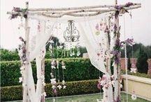 Ceremony Backdrops / Wedding Ceremony Backdrops, Arbors, Arches, Altars & Gazebos. Ideas, Decor & Inspiration.