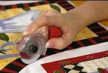 Ergonomics & adaptations for quilting/sewing