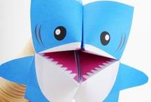 Shark Week / Fun ways to celebrate Shark Week / by Name Bubbles