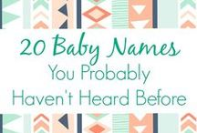 Baby Names / Boy names, girl names, and unique baby names. / by Name Bubbles