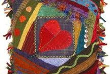 Crazy Quilting / crazy quilts and corresponding hand work / by Katie Lancaster