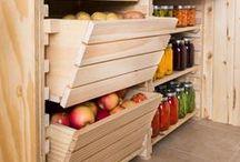 Garage/Fruit Room/Kennel / Inspiration and ideas for the garage/fruit room/kennel at our new home.