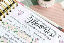 SCRAPBOOKING & PLANNING / Grab your washi tape, stickers, and miscellaneous scraps - we are getting crafty with our every day! // Scrapbook design, scrapbook planning, scrapbook inspiration, scrapbook ideas, planner design, planner inspiration, planner organization, keepsake kitchen diary, planner ideas