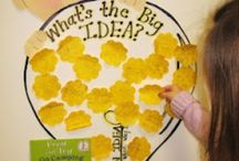 Reading  and 'ritin' and 'rithmetic, / Great ideas for my pre- k classroom :) / by Marissa Phillips