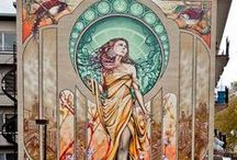 My romance with Art Nouveau / by Spinning Mermaid