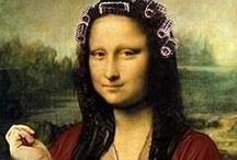 Mona Lisa / #monalisa #mona #lisa #joconda #joconde #davinci / by biot jef
