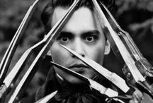 Tim Burton / #Tim #Burton #TimBurton #Edward #Alice #Jack #Nicholson #Batman #Beetlejuice #Helena #Bonham #Carter #Sweeney #Todd #Johnny #Depp #edWood #White #Queen #Mia #Wasikowska / by biot jef