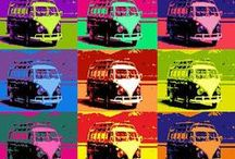 ~KOMBI VANS ~ VW's~ / <3 Volkswagens <3 thanks to our parents :) / by Marion Crystal Creations
