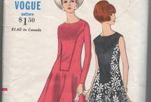 vintage sewing / by Roberta Westfal