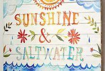 Spinning Mermaid - Spring/Summer 2014 Moodboard / Sunshine & Saltwater / by Spinning Mermaid