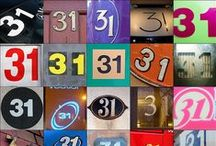 13 and 31 / I like the numbers 13 and 31 / by Marion aka rockchook