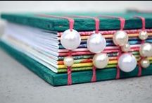~HANDMADE BOOKS~ / Hand made books / by Marion aka rockchook