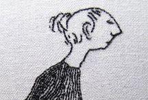 stitching & embroidery II / by Roberta Westfal