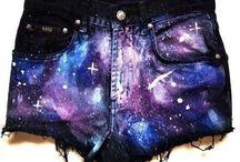 Galaxy print things / Galaxy print is my fav