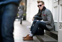 Second Glance / He is a stylish man from head to toe.