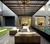 Arquitetura + texturas + formas