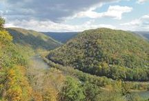 Hiking In The New River Gorge / The perfect way to observe the Gorge in all her glory.