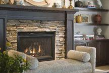 FIREPLACES SEASONAL! / Fireplaces / by Sandra Coy