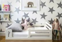 Boys Bedrooms / Kids bedrooms from around the web that we love - So easy to add some Penny Scallan products into!