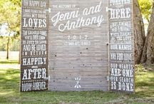 W E D D I N G L Y C I O U S / Board full of wedding theme ideas. Imagination is ur best friend and budget is your enemy :)