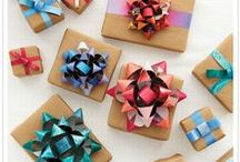 Gift Wrap / Creative Ideas for Gift Wrapping