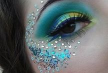 Makeup Ideas / The art of makeup is fascinating and so many skills and ideas around the world from all sorts of people in all sorts of places, here I am sharing some of the wonderful ideas.
