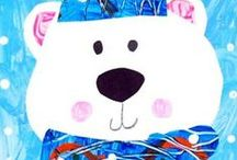Winter Arts and Crafts for Kids / Winter Crafts for Kids, Winter Art Projects for Kids
