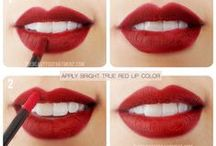 Just RED ...lips / Everything you always wanted to know about RED